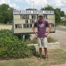 aaron-with-bosqueville-sign